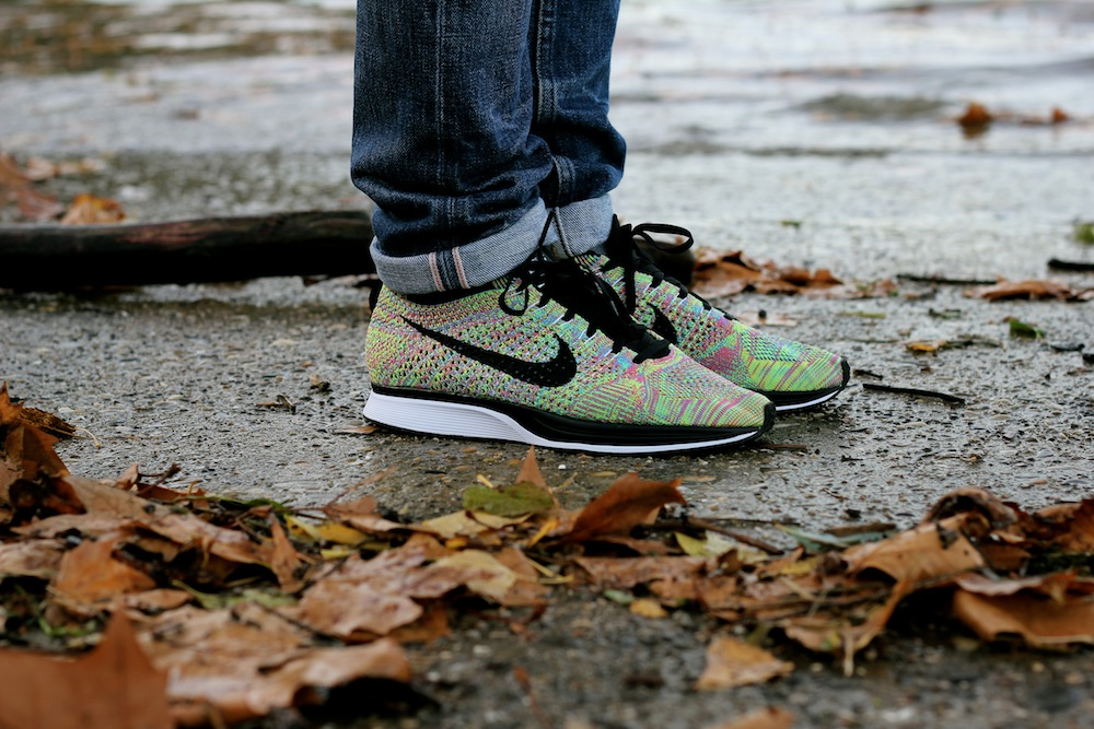 Flyknit Racer Multicolor On Feet